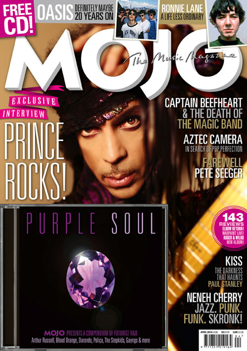 PRINCE INTERVIEW: MOJO APRIL 14